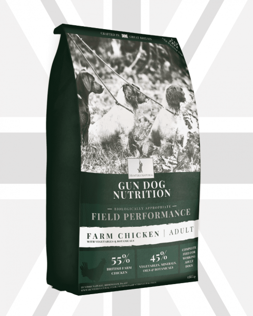 Hunters Natural Field Performance Grain Free Chicken Working Gun Dog Food Product Image 2